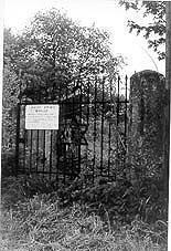 Eingang zum jüd. Friedhof